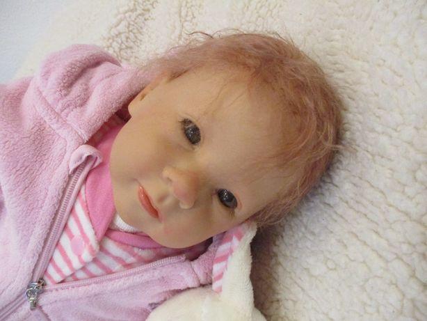 Bebe Reborn alta qualidade - cabelo MoHair e chucha com Iman