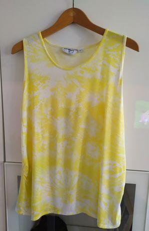 Bluzka ciążowa top 42 biały żółty Dorothy Perkins XL 44 XXL