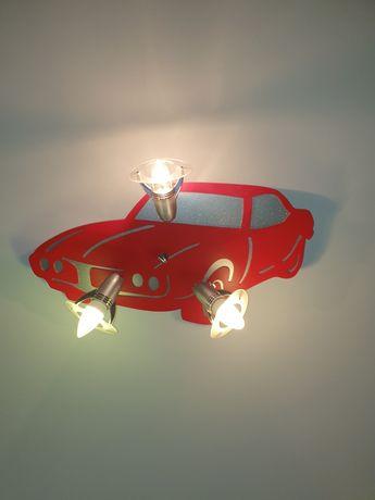 Lampa sufitowa chłopięca Auto