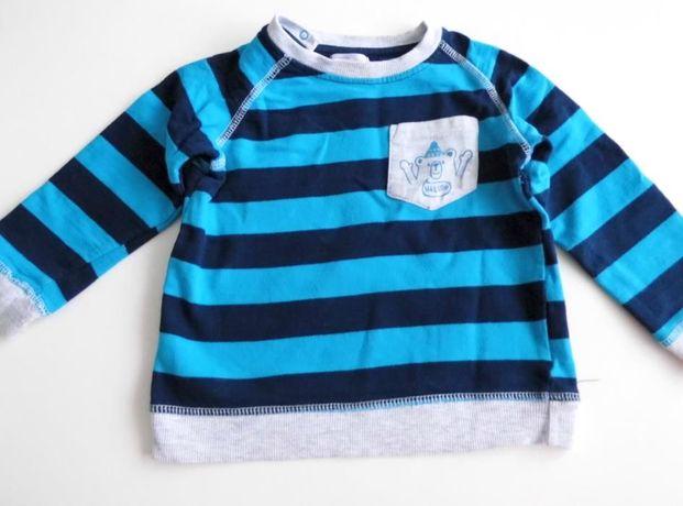 Śliczny sweterek dla chłopca 86