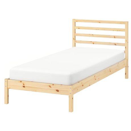 Łóżko Tarva sosna 90x200 cm Ikea