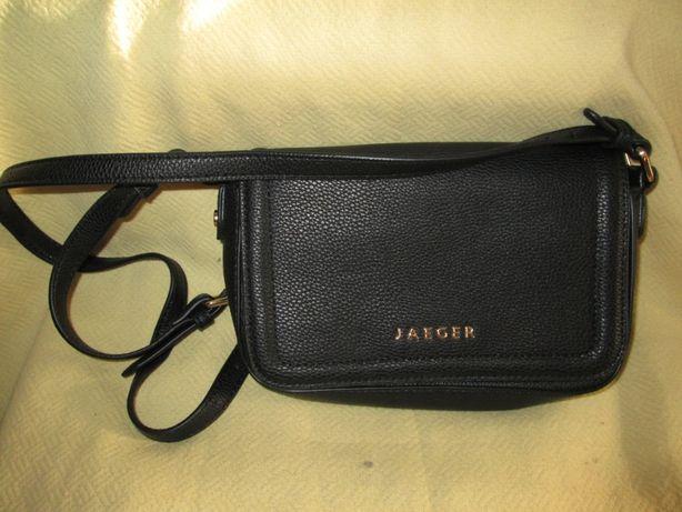 Черная женская сумочка Jaeger (Англия)