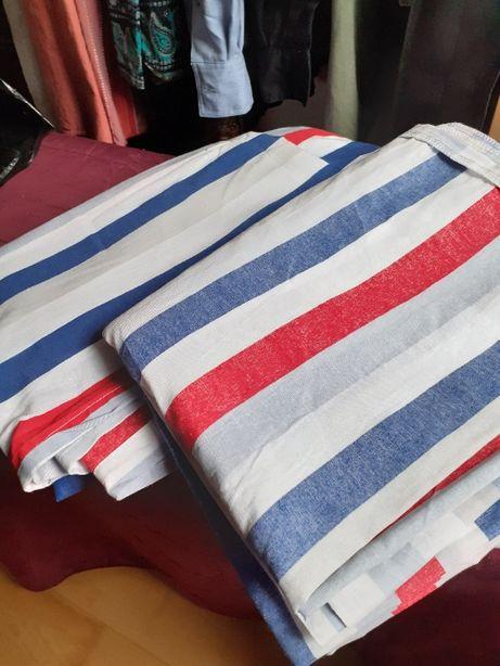 Nowy komplet pościeli bawełnianej 160 x 200 cm