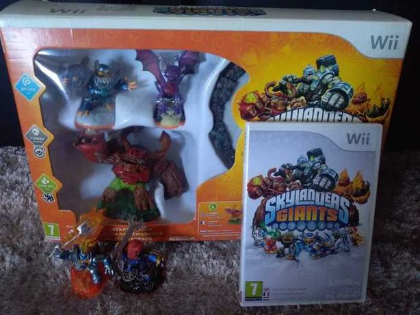 Skylanders Giants Wii conjunto completo