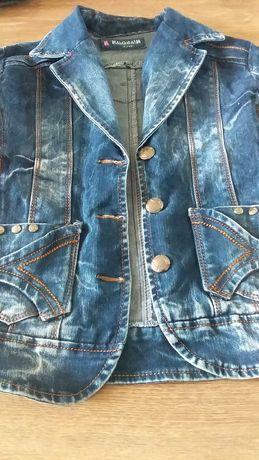 Джинсові куртки для дівчаток