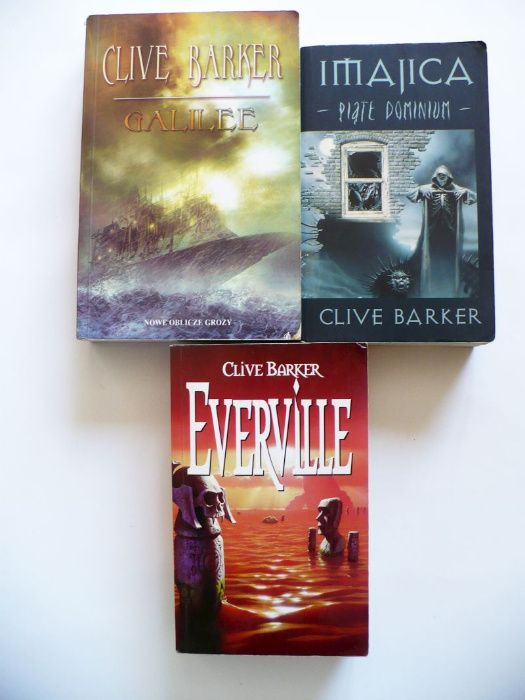 Clive Barker x 3, Everville, Imajica, Galilee Lublin - image 1