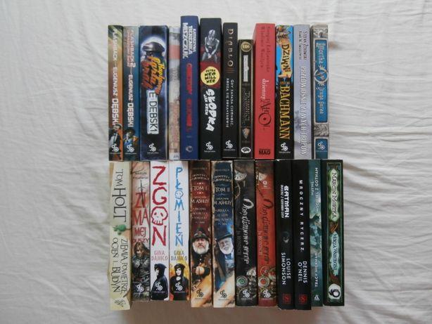 Książki, fantastyka, kryminały, sf, horrory