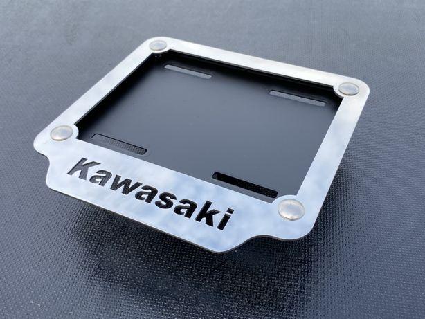 Ramka pod tablice rejestracyjna kawasaki