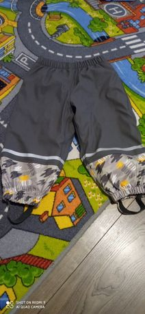 Spodnie ocieplane na sanki polar 86 92