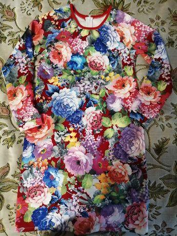 Сукня /платье в квітах