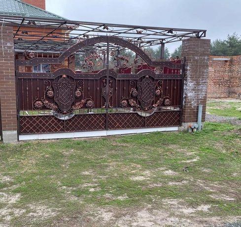 Ворота под заказ