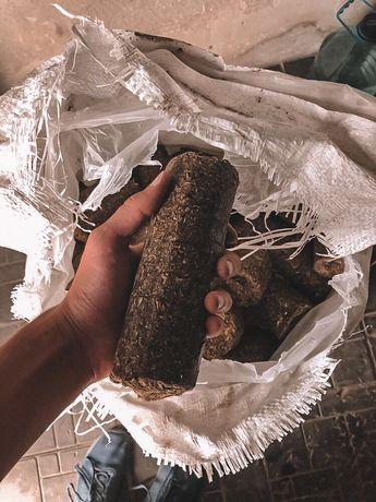 Брикеты (nestro) из лузги подсолнечника Бесплатная Доставка до 31.12