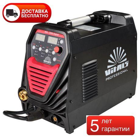 Полуавтомат сварочный Vitals Professional MIG 2000 Digital