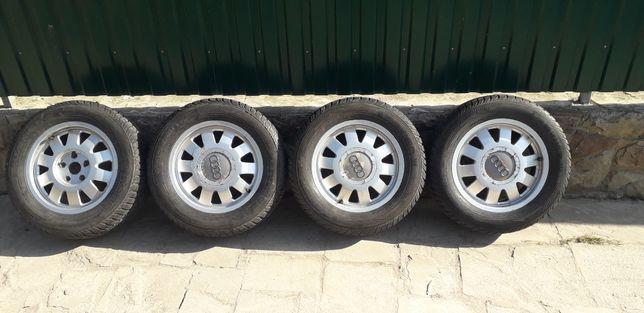 Диски з зимовою резиною резиною Audi , Volkswagen 5.112 R15