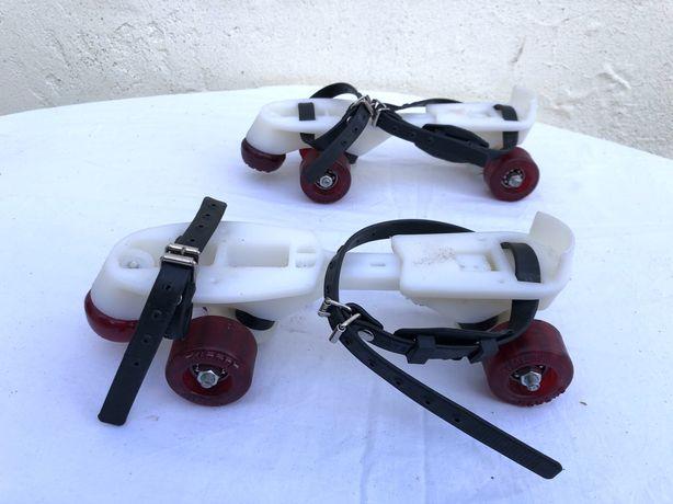"""Par de patins vintage, """"Skater Portugal"""" Comp: 26 cm"""