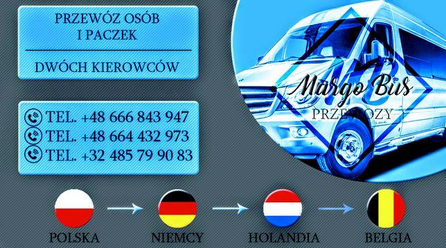 Przewozy Polska-Niemcy-Holandia-Belgia