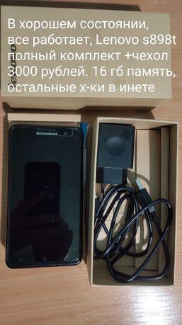 Телефон, Смартфон Lenovo s898t +, 16 gb