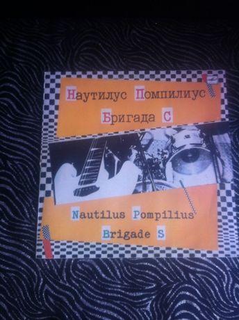 Виниловая пластинка Наутилус Помпилиус – Бригада С – 1987