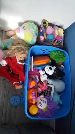 Zestaw zabawek jak na zdjęciu przytulanki, Fisher Price