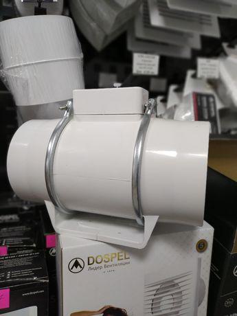 Витяжний вентилятор, витяжка, d100-125