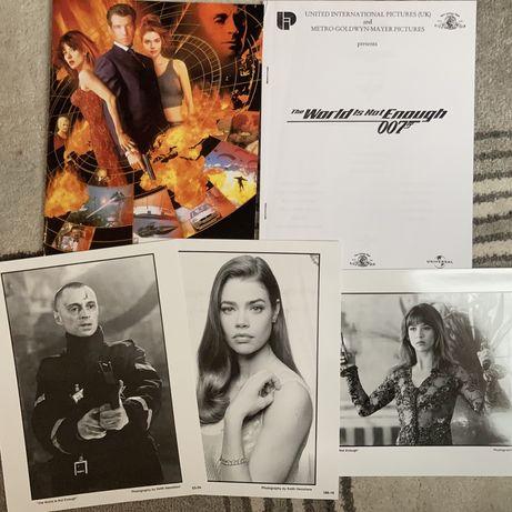 James Bond 007 - The world is noth Enough - pakiet promo