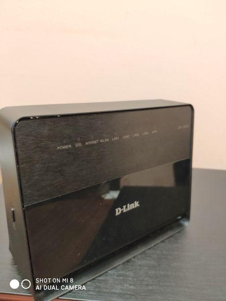 Модем/Роутер для Укртелеком или др. D-Link 2640U 100 Мб/с + Wi-Fi