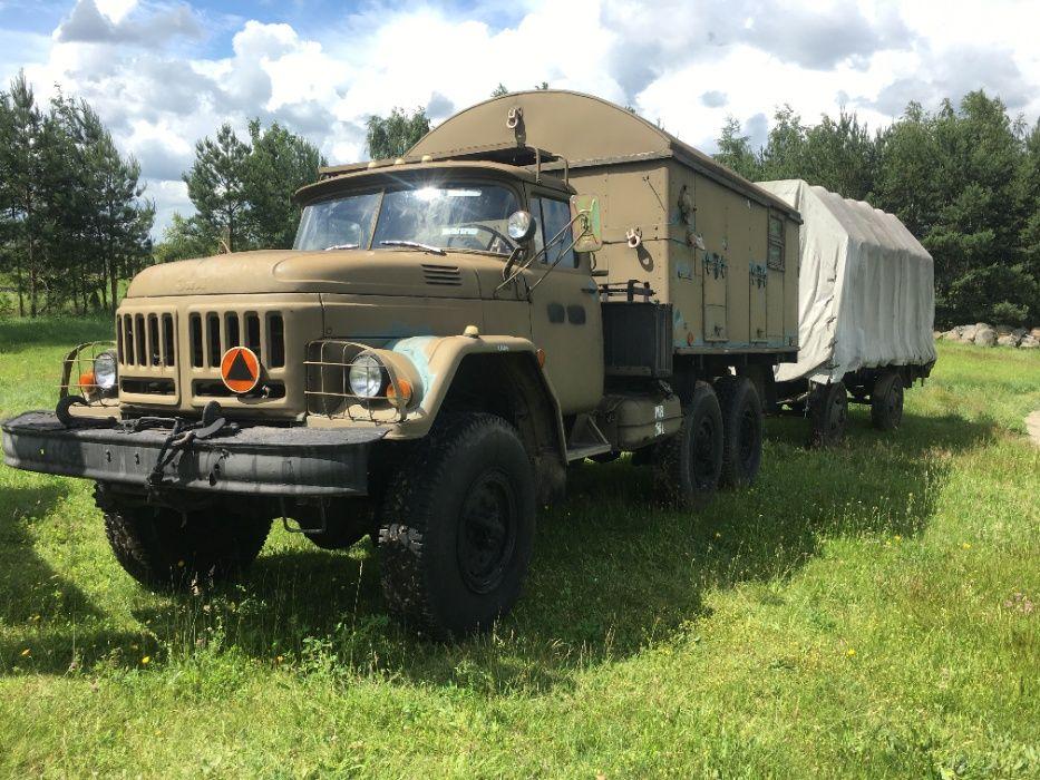Ził 131 Ural Kraz wojskowy terenowy Zadbany kamper Bardzo dobry stan Chojnice - image 1