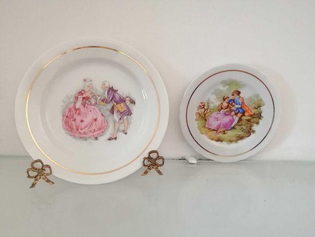 Pratos de porcelana da Vista Alegre