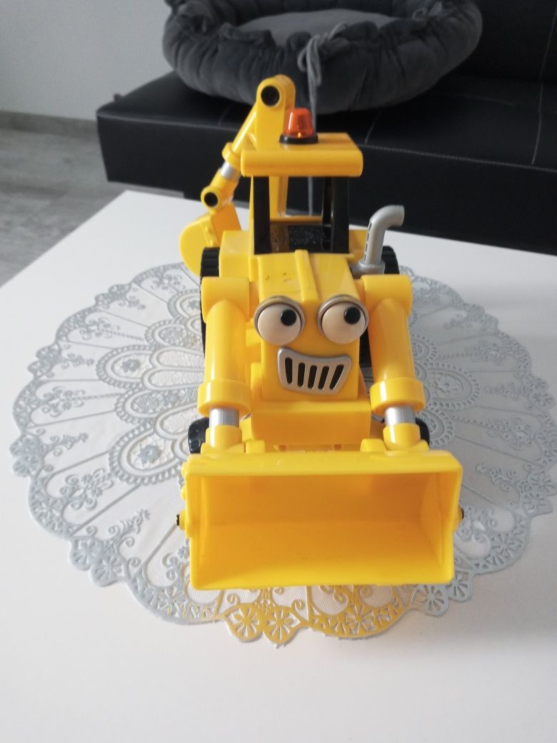 Koparko-ładowarka,zabawka dla chłopca z bajki bob budowniczy