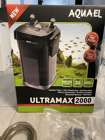 Filtr zewnętrzny do akwarium 400 - 700L Aquael ultramax 2000