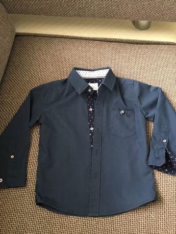 Koszula+krawat chłopiec 92