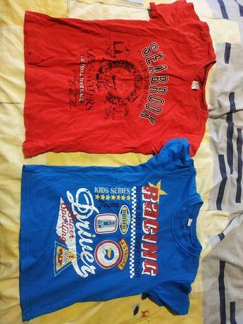 Вещи: футболка, шорты, рубашка.