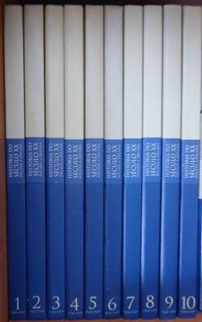 Enciclopédia História do Séc. XX Década a Década - 10 Volumes