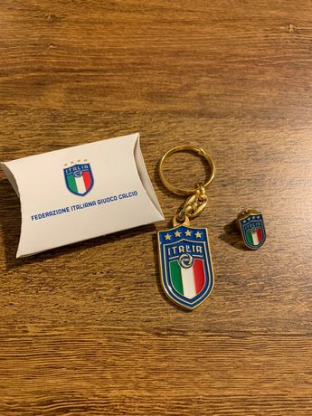 Porta chaves e Pin - Seleção Italiana