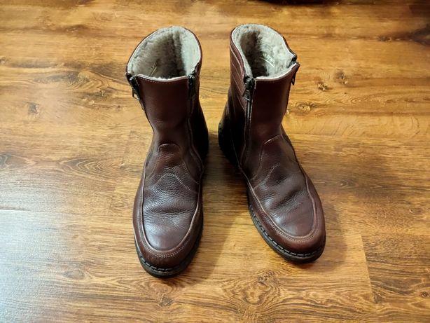 Ботинки мужские натуральная кожа. Италия
