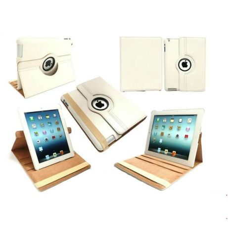 U029 Smart Cover Capa Pele iPad Air / iPad 5