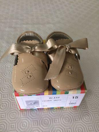 Sapato bebé tam 15