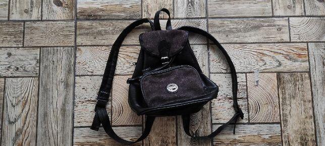 Женская кожаная сумка, рюкзак Top жіночий рюкзак