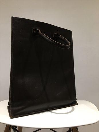 Sprzedam oldschoolową torbę ze skóry