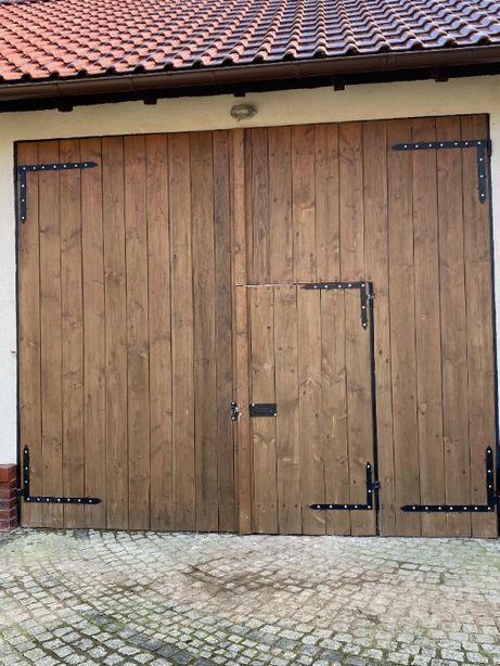 drzwi wrota do stodoły
