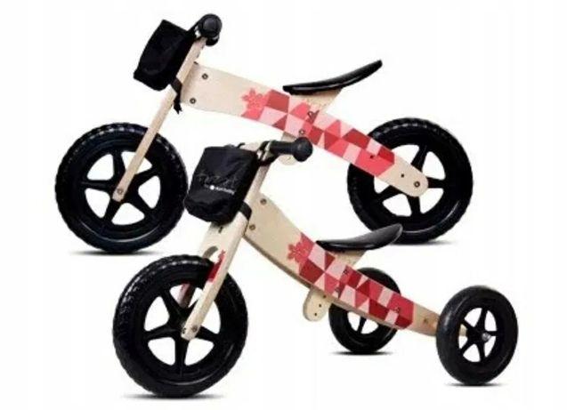 Rower 2w1 rowerek biegowy drewniany