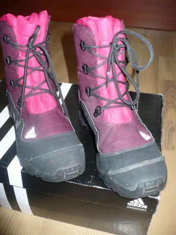 Buty zimowe Adidas dla dziewczynki rozm.37