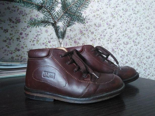 Кожаные ботинки Chicco 26 размер