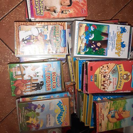 40 sztuk bajek na VHS