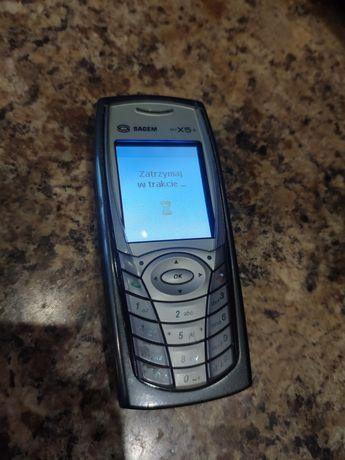 Telefon SAGEM myX5-2 (simlock Era) + ładowarka