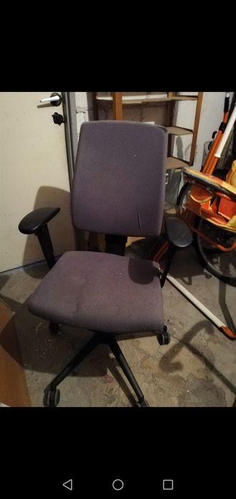 Krzesło obrotowe fotel obrotowy do biurka Słupca - image 1