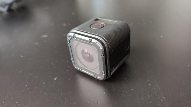 GoPro 4 Session + karta + akcesoria