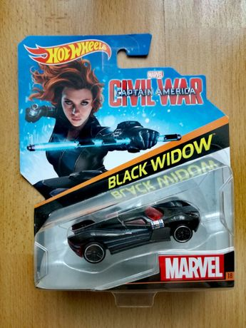 HOT WHEELS Marvel - Captain America: Civil War - BLACK WIDOW