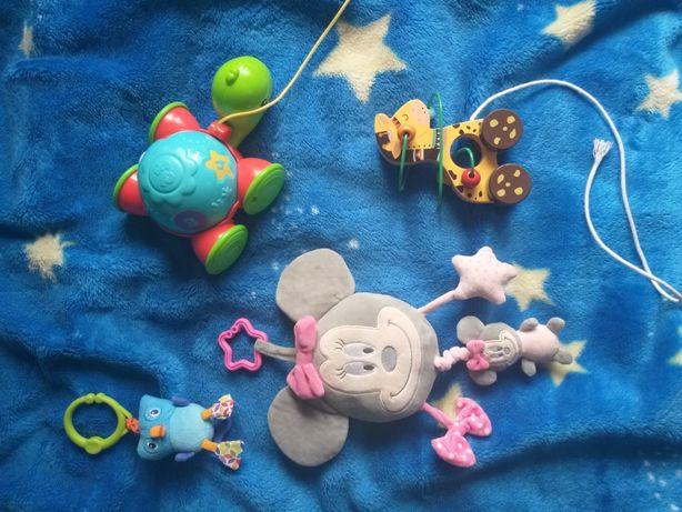 Zabawki fisher price, vtech i inne  w idealnym stanie. Tanio!