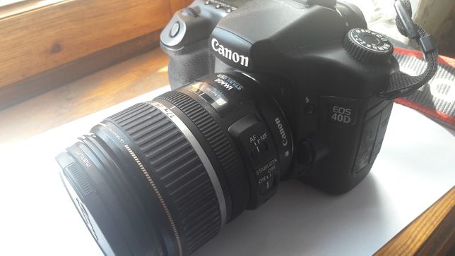 Canon EOS 40D + Canon EF-S 17-85 mm F 4-5.6 IS USM +Нищтяки бонус